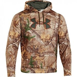 UNDER ARMOUR SNOW CAMO  HUNTING HOODIE SMALL ,XL  AND XXL NEW