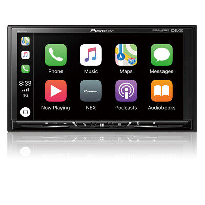 "Pioneer DMH-1500NEX 2 DIN Digital Media Player 7"" Bluetooth CarPlay Android Auto"