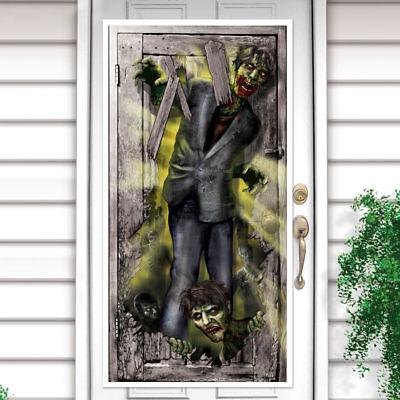 Tür-Deko Zombie, ca. 1,65m x 85 cm Halloween - Halloween Dekoration
