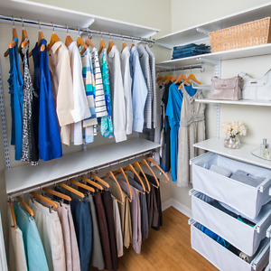 Custom Closet Designs @ Solutions, Your Organized Living Store