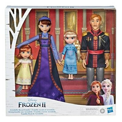 Disney FROZEN 2 Arendelle Royal Family Fashion Doll Set EXCLUSIVE!!