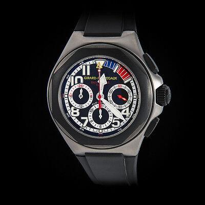 "Girard Perregaux  Titanium BMW Oracle Laureato Flyback Chrono. ""Team Watch"" Mint"
