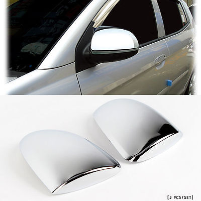 Morning Chrome LED Side Mirror Cover 2p For 2008-2010 Kia Picanto