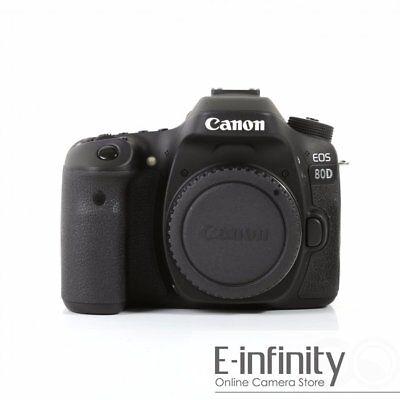NEW Canon EOS 80D Digital SLR Camera Committee (Kit Box)