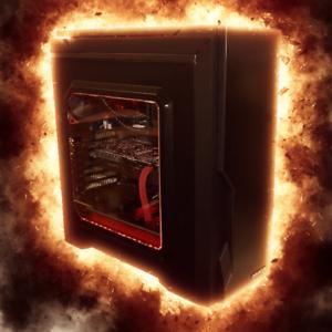 Firestorm Gaming PC - i7-8700, 16GB, 240GB SSD   2TB, GTX1070, Wi