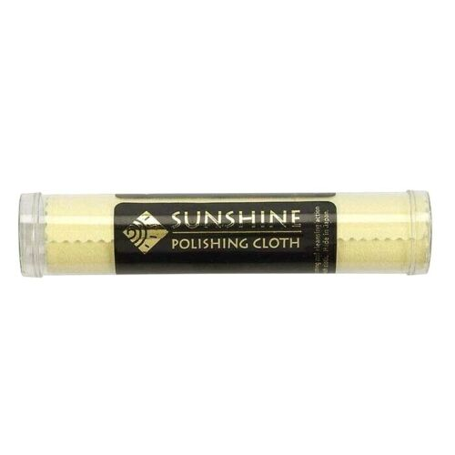 1 Sunshine Polishing Cloth Jewelry Cleaner Tube Silver Brass Gold Copper