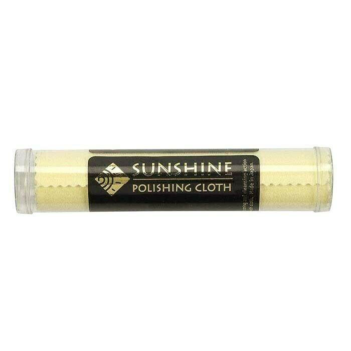 1 Sunshine Polishing Cloth Jewelry Cleaner Tube Silver Brass