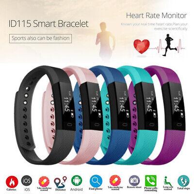 Women Men Kids Smart Band Fitness Tracker Watch Sleep Bracelet Wristband Fit-Bit