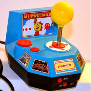 MS PAC MAN Namco Plug & Play TV Game