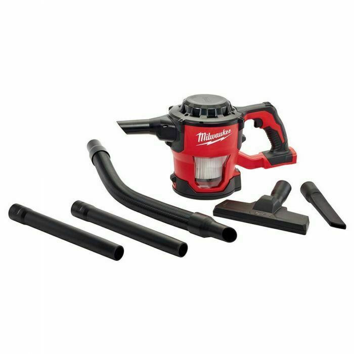 Milwaukee 18v Vacuum Skin With Attachments M18cv0