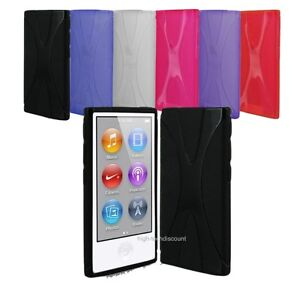 housse etui coque pochette silicone gel pour ipod nano 7g 7 g 233 n 233 ration
