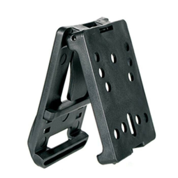 "Blackhawk Black Mod-U-Lok Platform For Holster w/ Spacer Fits 2.25"" Belt"