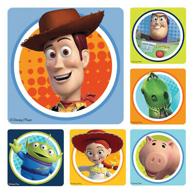 25 Toy Story Stickers Party Favor Teacher Supply Buzz Rex woody Jessie - Toys Story Party Supplies
