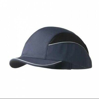 Surflex Safety Bump Cap En812 56-64cm All Season Baseball Navy Black