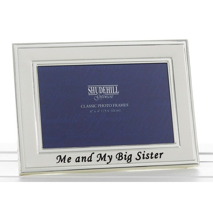 Me and my Big Sister photo frame Gift Present Christmas Birtday Home Decore