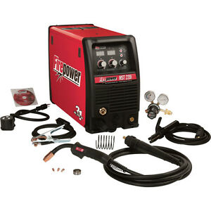 220i Multiprocess Welder with Multi-Voltage Plug — 115/230V, 150