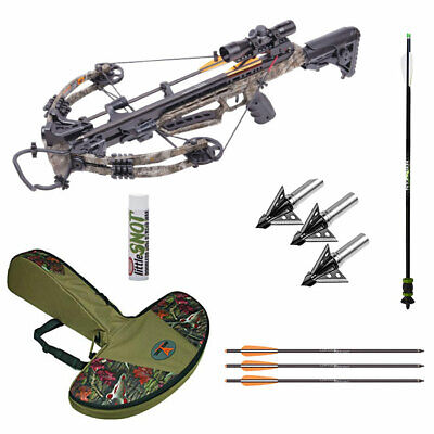 Centerpoint Mercenary 390 Crossbow PRO Package with lots of Extras! - 390fps