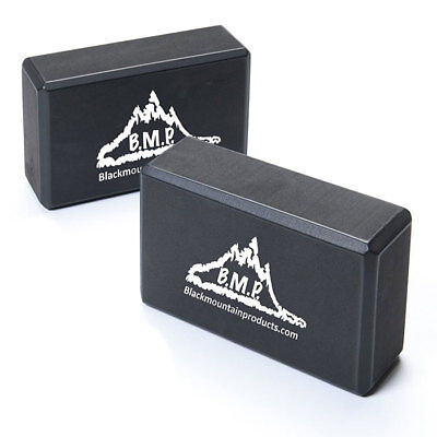 Black Mountain Products Set of TWO Yoga Blocks