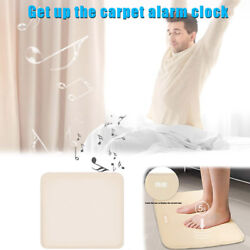Magic Stand On Pressure - Sensitive Smart Alarm Clock Mat - Floor Rug LED Time~~
