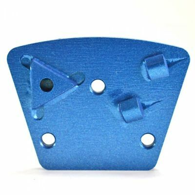 (PCD31CR Trapezoid Floor Grinding Metal Bond Diamond Disc with Triangle Cutter)