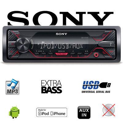 Sony DSX-A210UI - MP3/USB - Autoradio KFZ Radio PKW Auto (Radio Mp3 Player Sony)