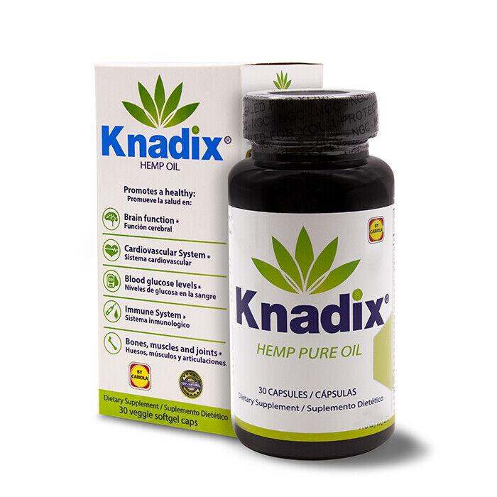 1 KNADIX OIL DIETARY SUPPLEMENT 30 CAPS / KNADIX SUPLEMENTO DIETETICO 30 CA