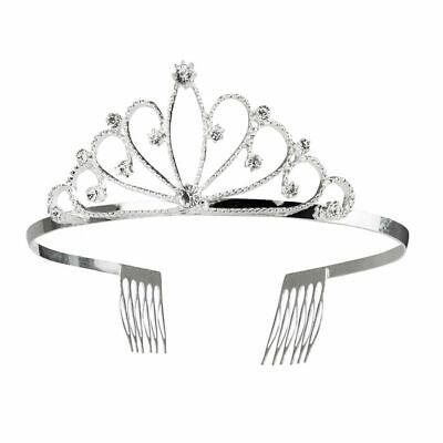 Diamanten silber Krone Krönchen Kostümzubehör Prinzessin (Kostüm Krone)