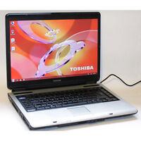 Toshiba Satellite A100 Laptop Core2Duo WiFi 1GB RAM 80GB HDD DVD