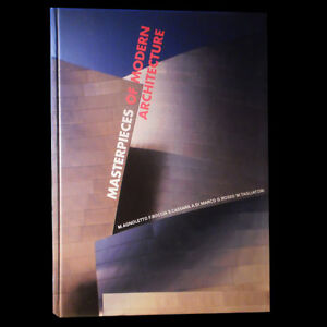 MASTERPIECES OF MODERN ARCHITECTURE (LARGE HARDCOVER)