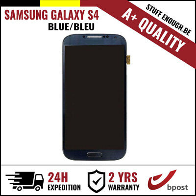 A+ LCD TOUCH SCREEN DISPLAY/SCHERM/ÉCRAN BLUE FOR SAMSUNG GALAXY S4 I9500