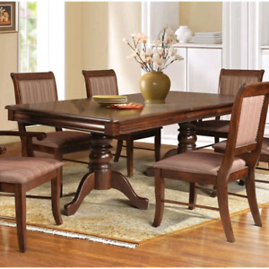 Nouveau Table Diner, New Solid Wood Extendable Dining Table
