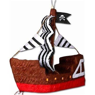 Piratenschiff Pinata für Piraten-Mottoparty oder Piratengeburtstag-Spiele Kinder