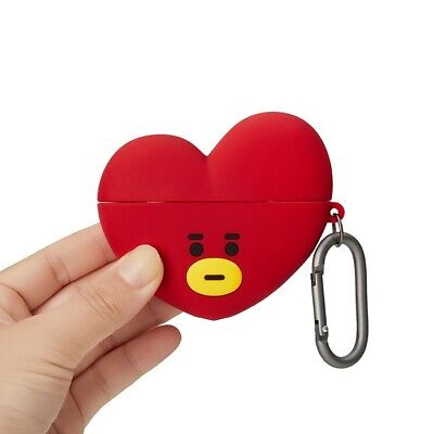 LINE FRIENDS BT21 TATA Basic Case for AirPods Pro w Keyring Official Goods BTS
