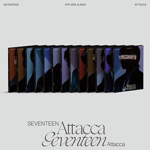 SEVENTEEN [ATTACCA] 9th Mini Album CARAT Ver CD+Binder+Booklet+4 Card+Lyric+GIFT