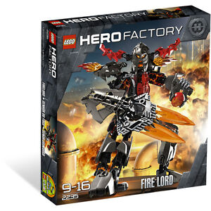 """LEGO Hero Factory """"Fire Lord"""" 2235 99% Complet bonne condition"""