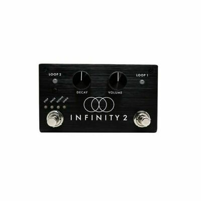 Pigtronix Infinity 2 Double Looper Stereo Looping Pedal