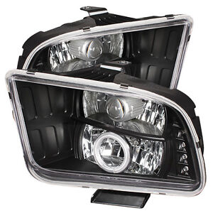 399.95$ Ford Mustang 05-09 Projector Headlights  CCFL Halo - LED