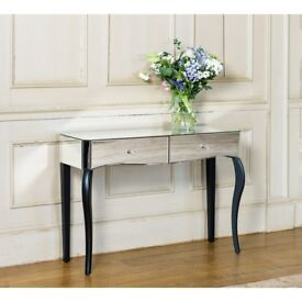 New mirrored dressing table ...hall console table
