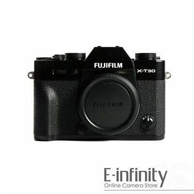NEW Fujifilm X-T30 Mirrorless Digital Camera Body Only (Black)