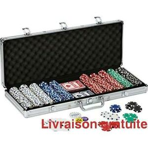 Ensemble 500 jetons Poker / 500 Poker Chips
