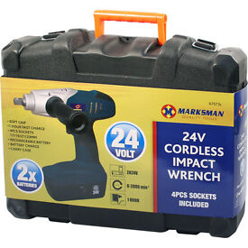 Impact Wrench 2 Batteries, 24V