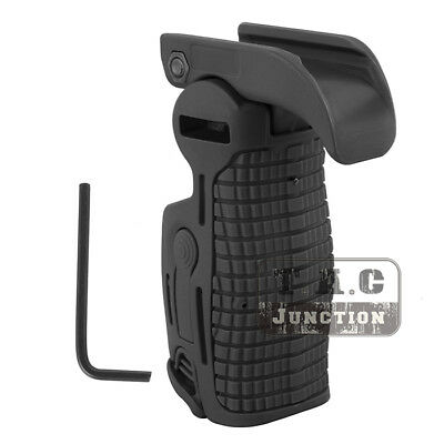 Tactical Integrated Folding Picatinny Rail Foregrip Trigger Guard Cover (Foregrip Integrated Rail)
