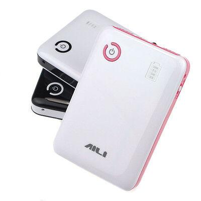 Unique 5V 2A Dual USB Output 4x 18650 Power Bank Battery Pack Case Holder