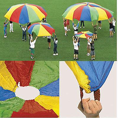 Schwungtuch Ø 5 m Deko Fallschirm + Anleitung Spiel neu