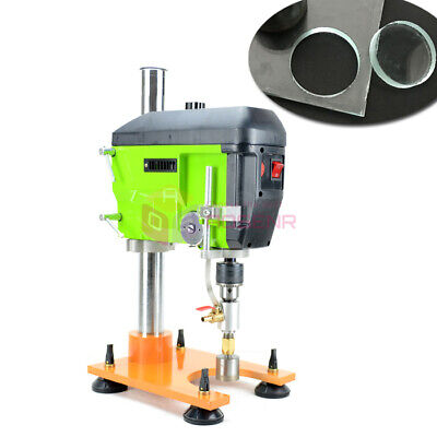 220v Portable Glass Punching Machine Mini Drill Marble Ceramic Drilling Reamer