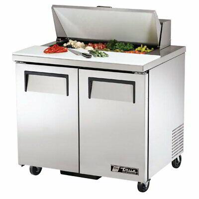 True Tssu-36-08 36 Sandwichsalad Prep Table Refrigerated Base 115v