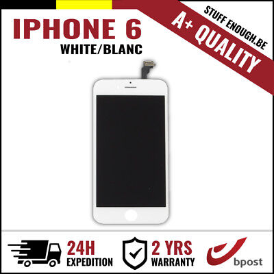 A+ LCD TOUCH SCREEN VITRE TACTILE SCHERM/ÉCRAN WHITE BLANC FOR IPHONE 6 6G 4.7""