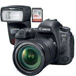 CANON  EOS 6D MARK II 24-105L IS II USM + BUNDLE