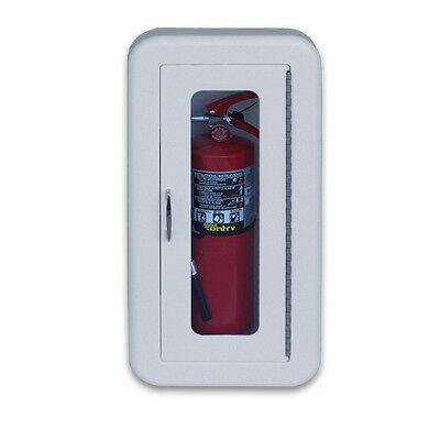 Cato Classic 5lb-10lb Plastic Semi Recessed Fire Extinguisher Cabinet
