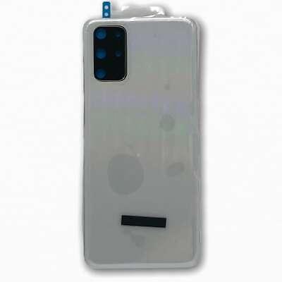 Tapa Trasera Original para Samsung Galaxy S20+ G986 Blanca con Lente de...